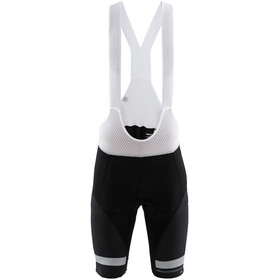 Craft Hale Glow Bib Shorts Men black/silver